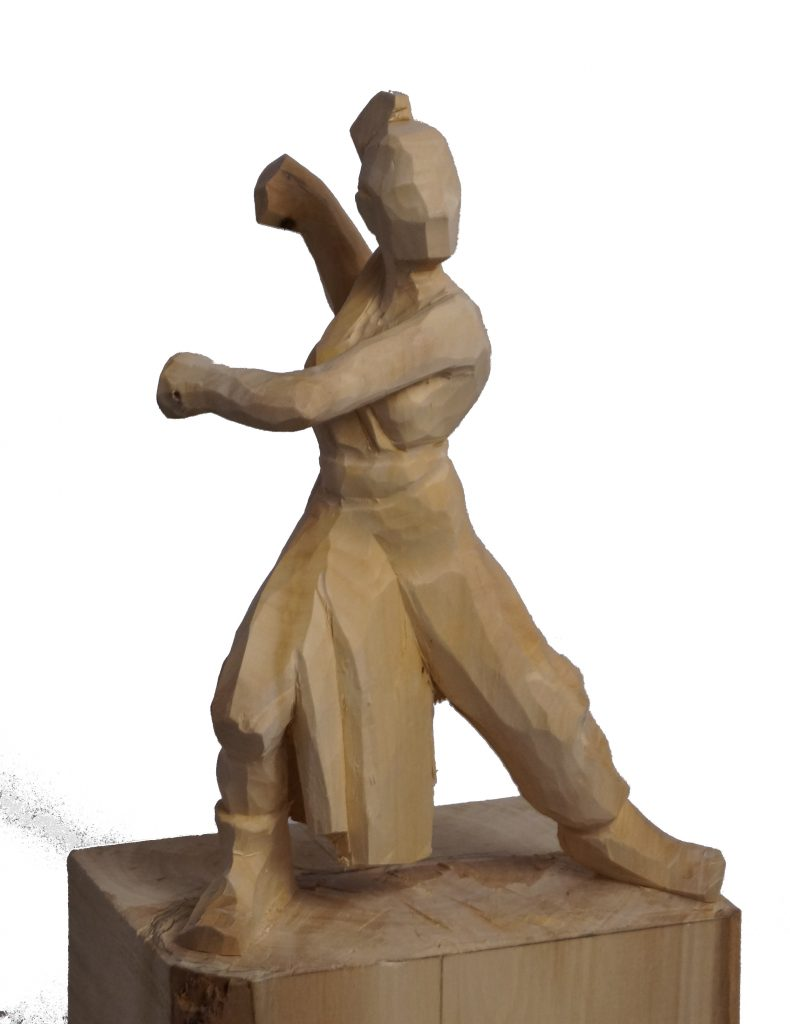 Holzfigur-Rey