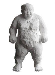 Sumoringer-Gussfigur-Figur